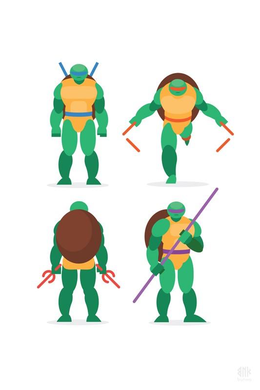 Ninja Turtles Bunka Photographie D Art Galerie Sakura