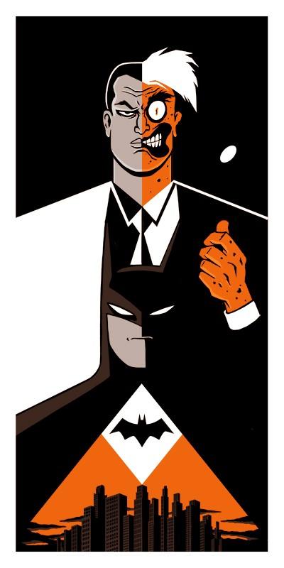 Batman Vs Double Face Vincent Roche Photographie D Art Galerie